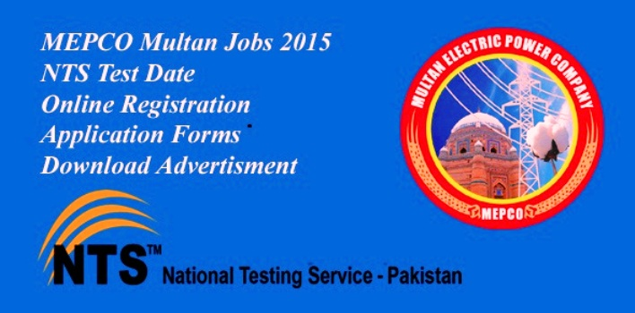 Multan Electric Power MEPCO Online Jobs 2015 Application Forms Download
