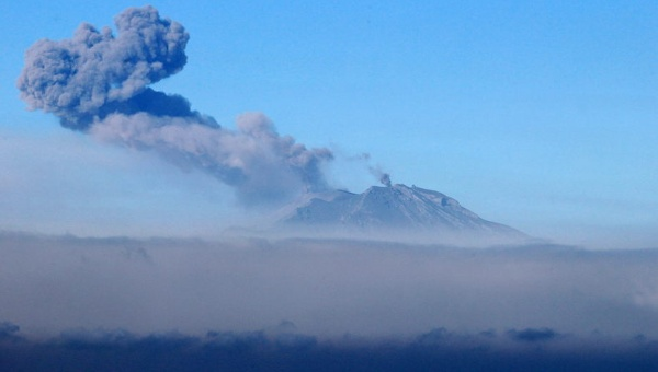 Volcano Ash turning the Chile city to deserts