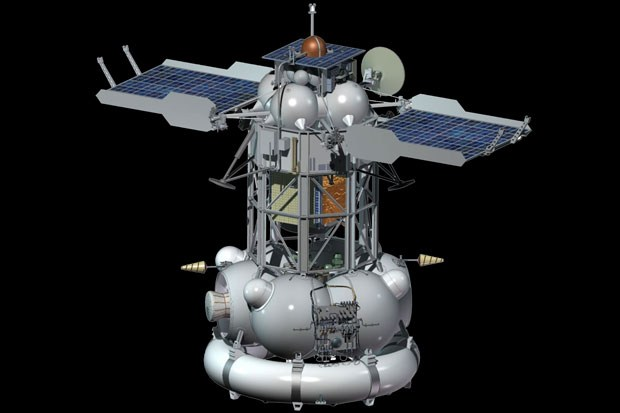 Russian spacecraft uncontrolled rushed to earth