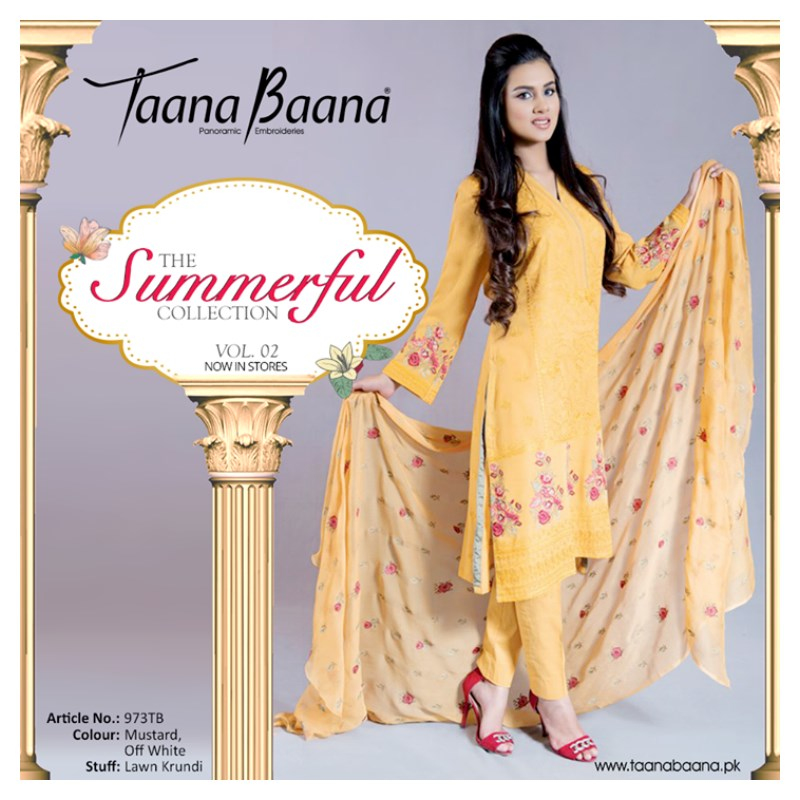 Taana Baana Spring Lawn 2015 Dresses Collection (2)