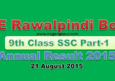 BISE Rawalpindi Board 9th Class annual Exam Result 2015