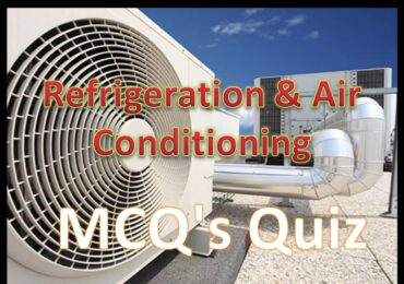 Online Refrigeration & Air Conditioning MCQ's Quiz