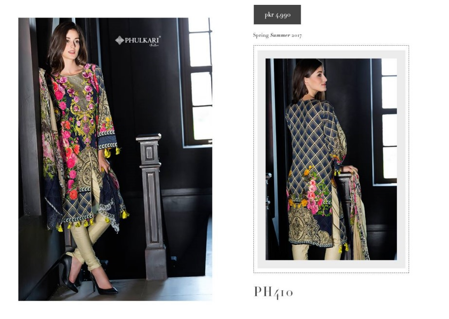 Taana Baana by Phulkari 2017 spring summer dresses Collection (3)