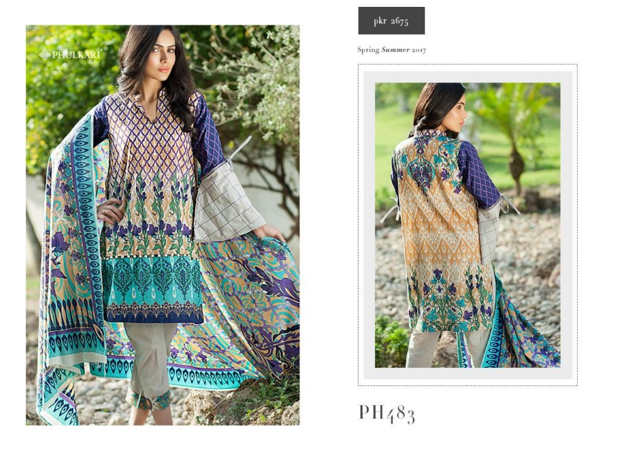 Taana Baana by Phulkari 2017 spring summer dresses Collection (8)