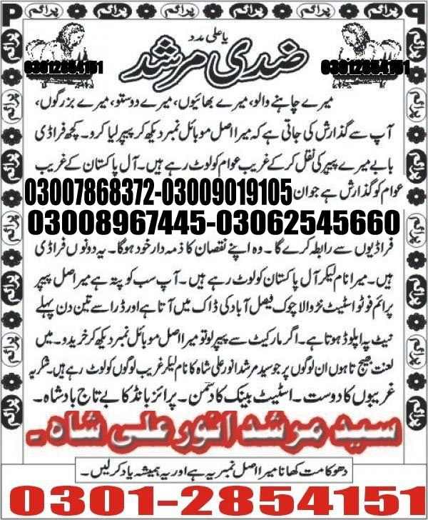 Prize bond Ziddi Murshid 15000 Guess Papers 2017 (2)