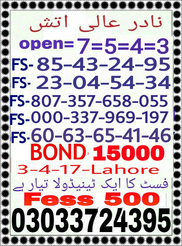 Prize bond Ziddi Murshid 15000 Guess Papers 2017 (5)