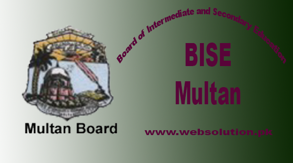 Bise Multan Board 10th Class result (Matric Results) 2017 Announced