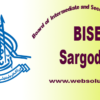 Bise Sargodha Board 10th Class result (Matric Results) 2017 Announced
