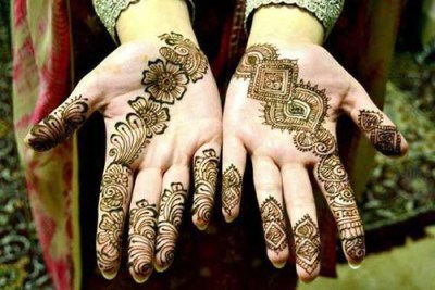 Beautiful Mehndi design collections 2013