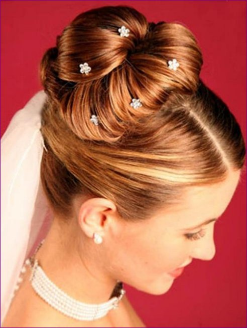 Latest Bridal Hairstyles Fashion Trend 2013 For Women