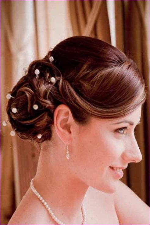 Latest Bridal Hairstyles Fashion Trend 2013 For Women (3)
