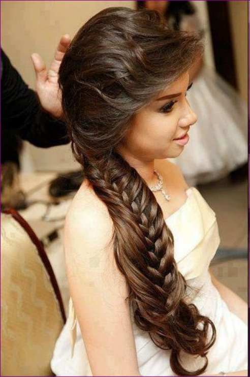 Latest Bridal Hairstyles Fashion Trend 2013 For Women (8)