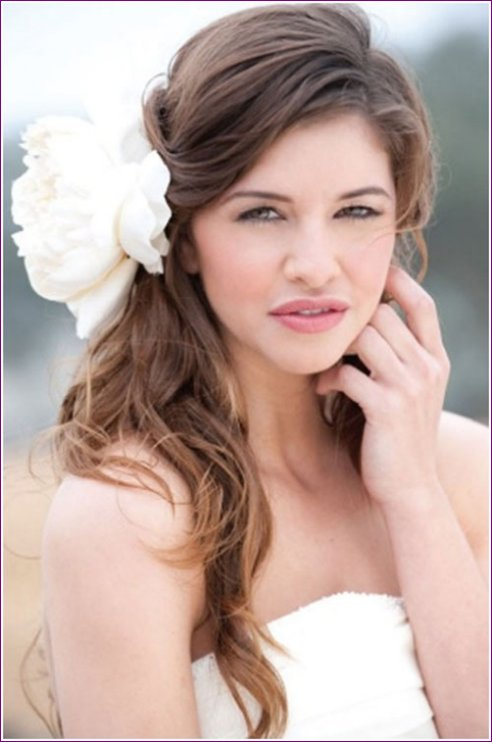 Latest Bridal Hairstyles Fashion Trend 2013 For Women (1)