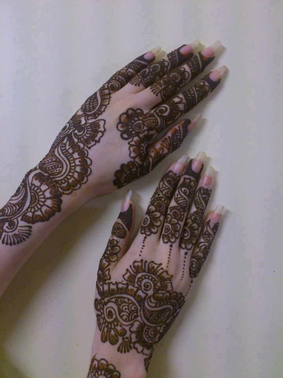 New Design Collection of Mehndi for Ladies