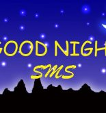 Latest collection of good night latest sms