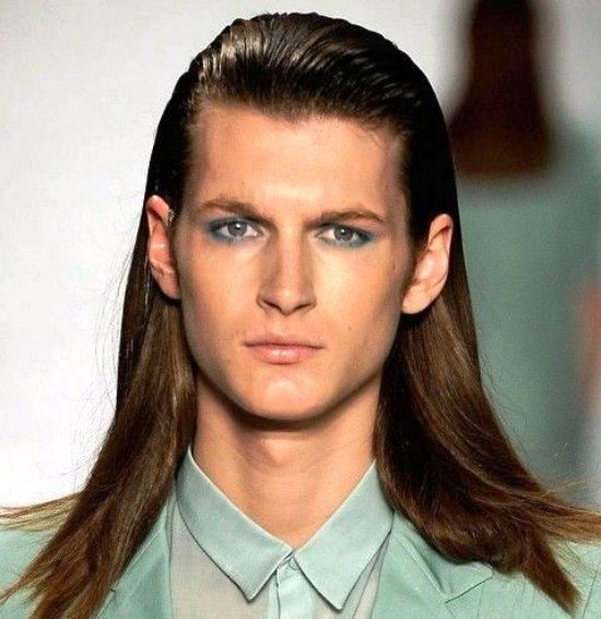 Latest hair styles for man like ladies