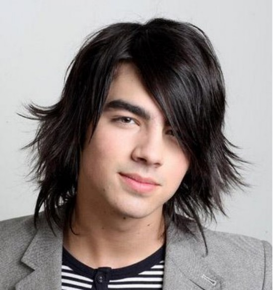 For man hair fashion long hairs cut