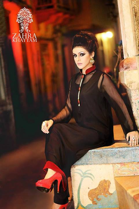 Latest Eid Collection for Ladies by Zahra Khayyam