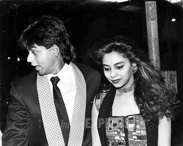 Shahrukh khan with his wife gauri