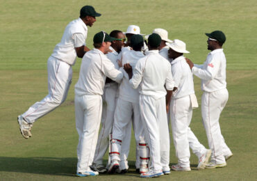 After 12 Years Zimbabwe Gets First Significant Cricket Victory