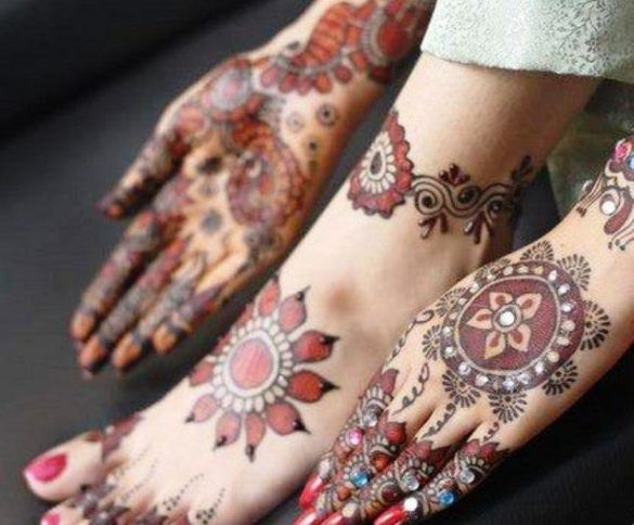 Arabic Mehndi Designs for Hands and Foot