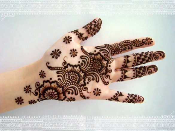 Latest Arabic Mehndi Designs for women
