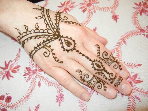 Beautiful Hands and Arms Mehndi Designs for Girls