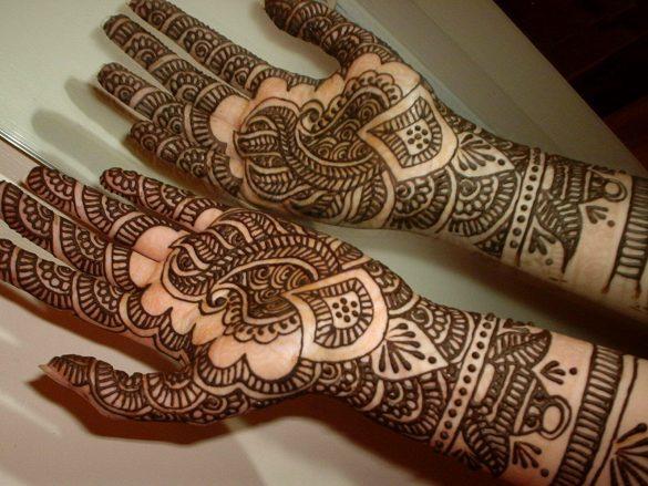 Latest Arabic Pakistan Mehndi Designs