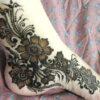 Mehndi Designs for Foot