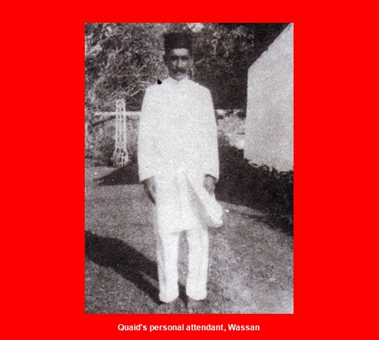 Memorabilia of Quaid e Azam Muhammad Ali Jinnah Quaids personal attendant Wassan Memorabilia of Jinnah