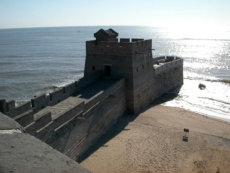 WHERE THE GREAT WALL OF CHINA MEETS THE SEA