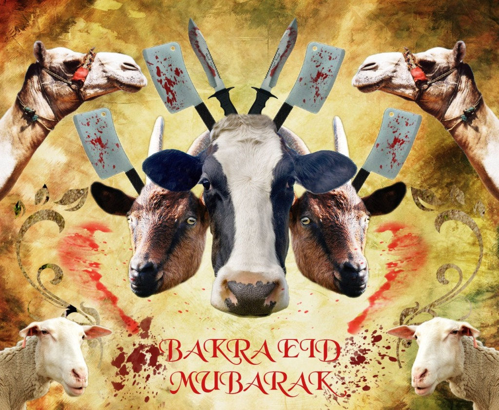 Bakra Eid Greetings Wallpapers collection