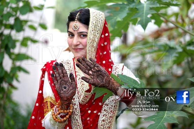 Host and Actress Sanam Baloch Wedding Pictures