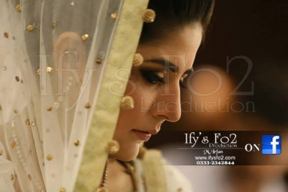 Sanam Baloch Wedding Pictures on Barat Day