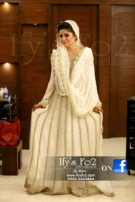 Sanam Baloch Photoshoot on Barat Day