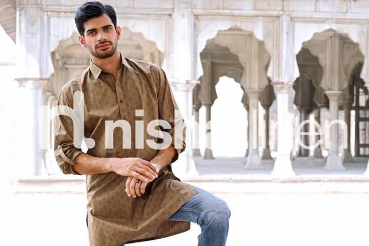 Latest Men kurta Winter Collection by Nishat Linen