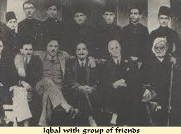 Allama Iqbal With His Friends Group Photo