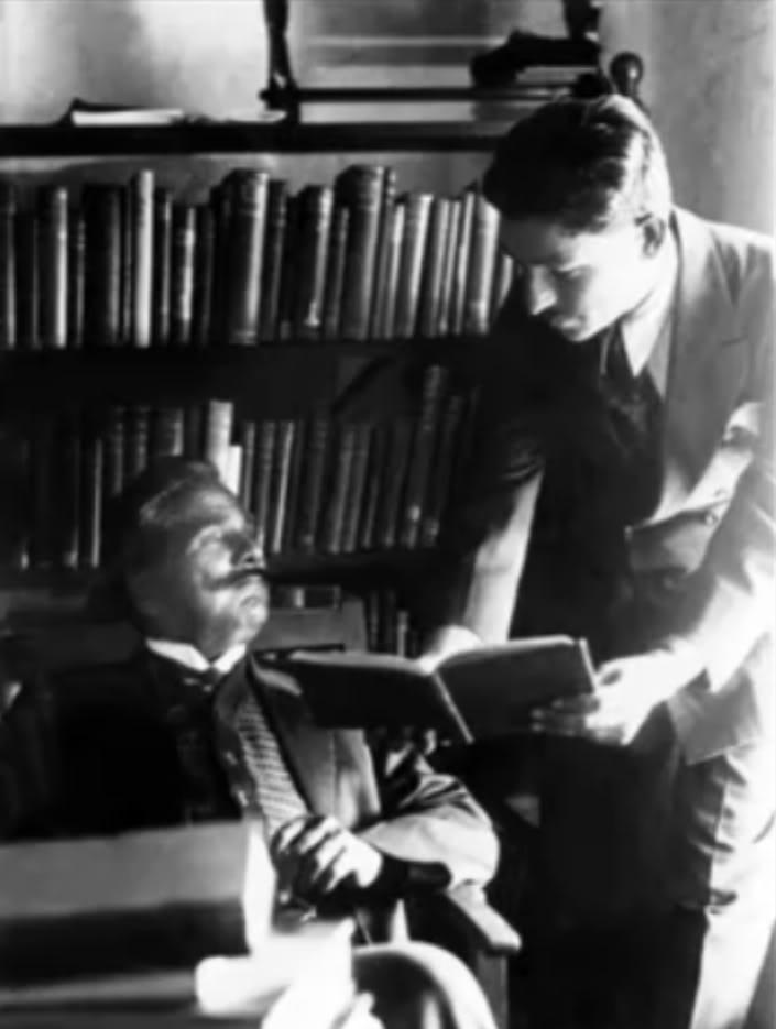 Allama Iqbal At Library rear Photo