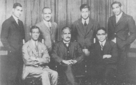 Allama Iqbal With Friends Group Photo