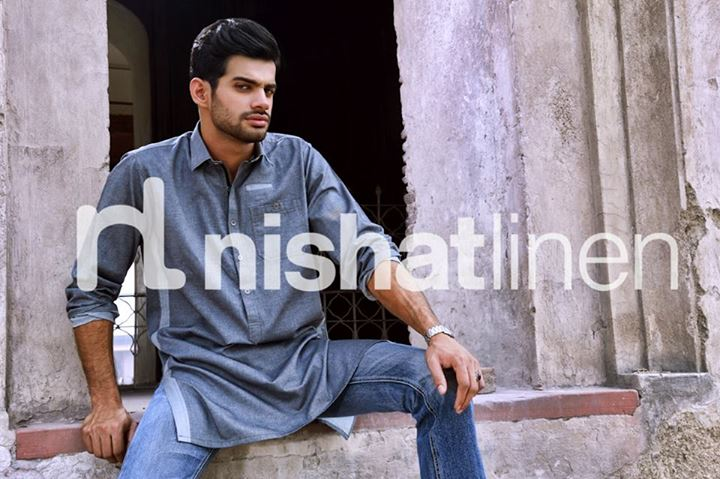 Latest Men Wear Kurta Collection By Nishat Linen