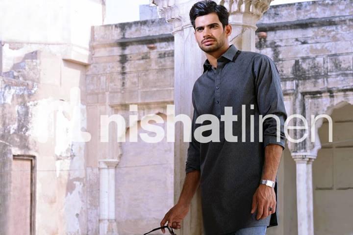 Latest Men Wear Kurta Collection By Nishat Linen