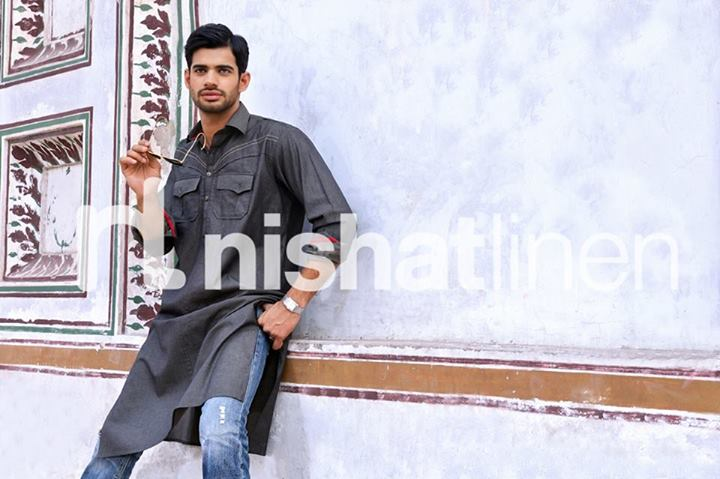 Naqash by Nishat Linen latest Men wear Kurta Collection