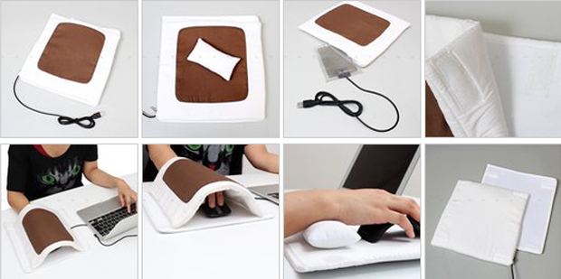 Futon Mouse Pad Heated your Hands
