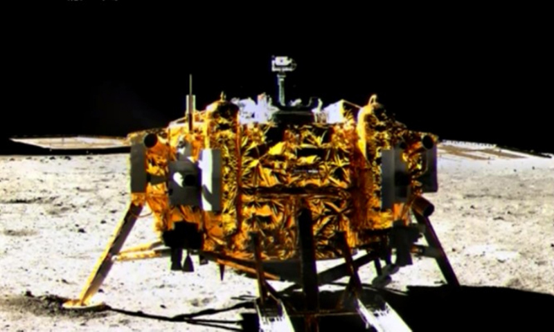 China Lands on the Moon, Makes New History