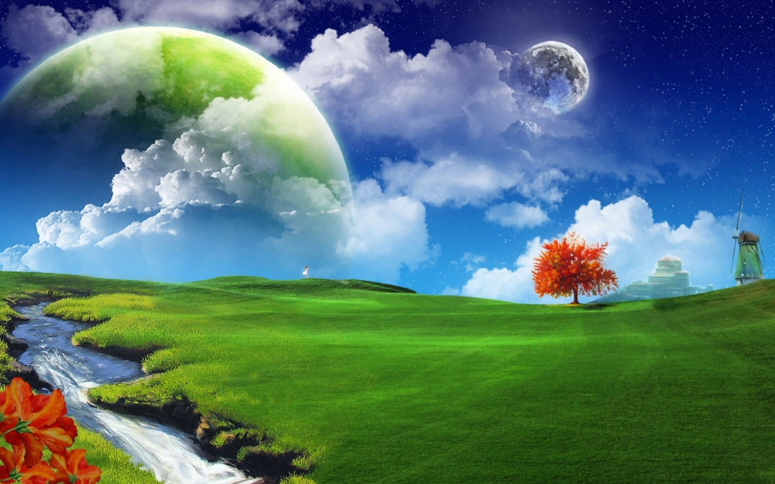 Beautiful 3D Moon Wallpapers
