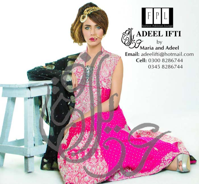 Beautiful Collection of Bridal Dresses by Adeel Ifti