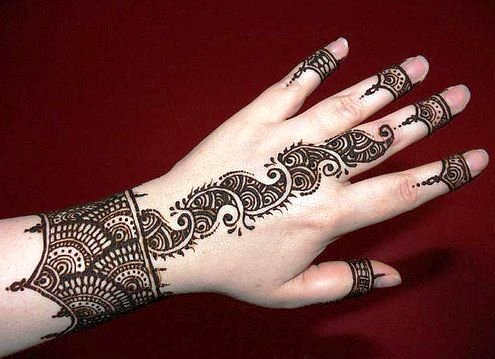 Arabic Mehndi Designs on Valentine's Day Mehndi Collection 2014
