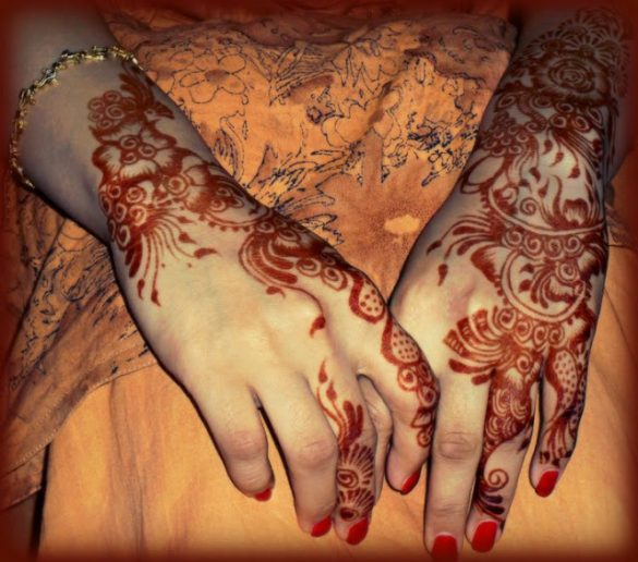 Beautiful Mehndi Designs Latest Collection for Girls (5)