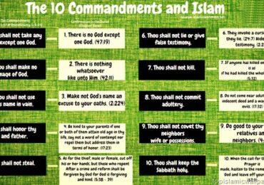 10 Commandments and Islam, Beautiful Islamic Wallpaper collection