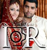 Merrage picture of Umer Akmal with his Wife Amna